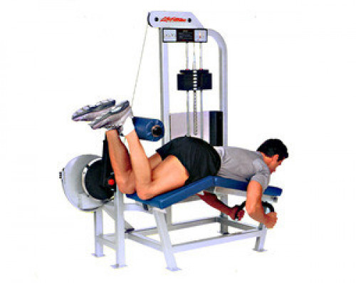 Life Fitness PRO Prone Leg Curl - Remanufactured