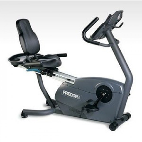 Precor 842 Recumbent Bike - Remanufactured