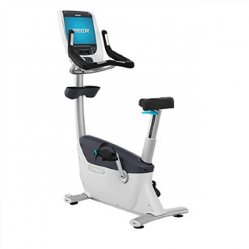 Precor UBK 885 Upright Bike w/P80 Console - Remanufactrued
