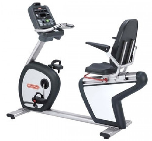 Star Trac Walk Through Pro Recumbent Exercise Bike - Remanufactured