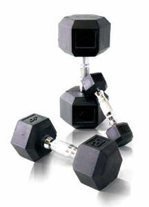 troy rubber hex dumbbell set 5 lbs 50 lbs pairs 817 15