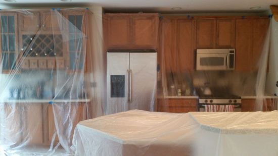 Friendly Advice For Home Interior Painting Projects: Drop Cloths and Plastic Sheeting