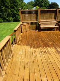 Deck Powerwashing in Rochester NY