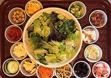Create Your Own Salad Menu