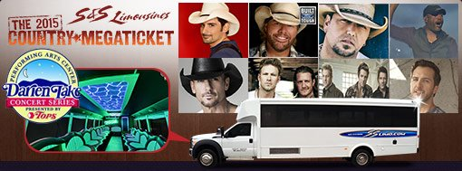 Transportation to the Country Megaticket Concerts