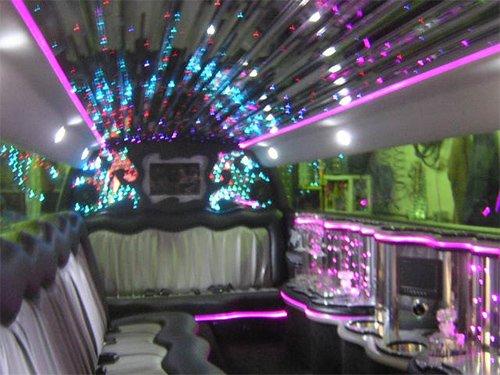 Dodge Nitro Limo Interior