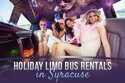 Holiday Limo bus Rentals in Syracuse