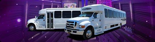 41 Passenger Limo Bus Syracuse NY