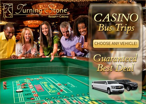 Turning Stone Casino Trips by Limousines