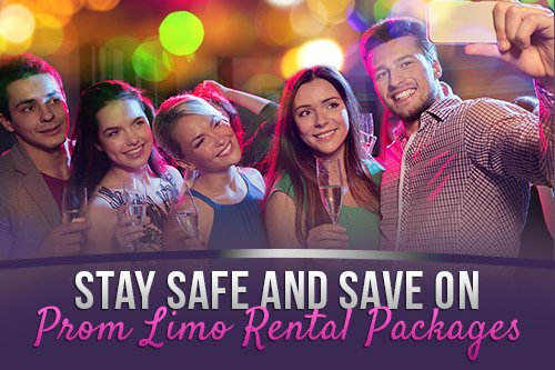 Stay Safe and Save on Prom Limo Rental Packages