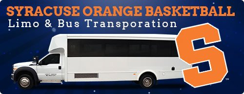 Syracuse Orange Limo Bus