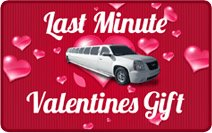 Limo for Valentines Day
