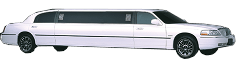 White Lincoln Towncar Superstretch Limo
