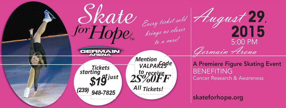 Skate for Hope Cancer research