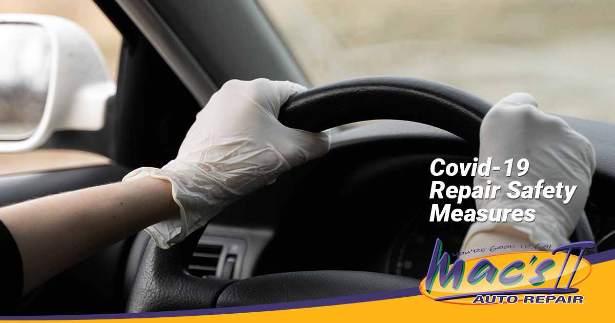 Auto Repairs and Maintenance During COVID-19