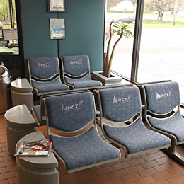 Mac's II Auto Repair Waiting Area