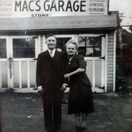Owner Ken, And his Dad, Mac