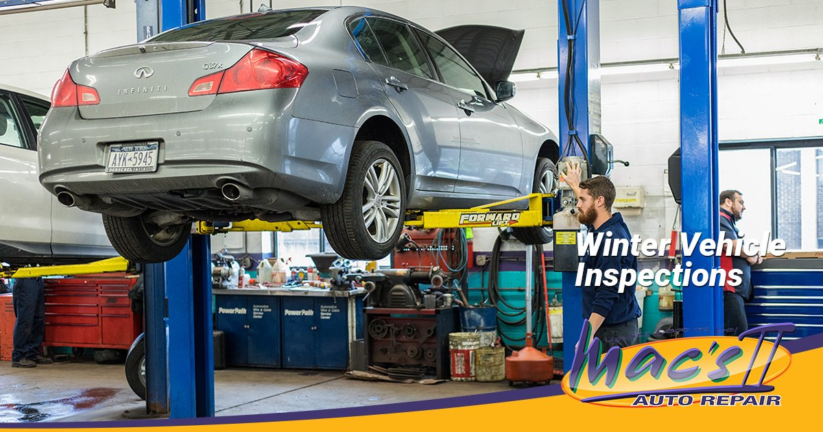 The Benefits of a Winter Vehicle Safety Inspection