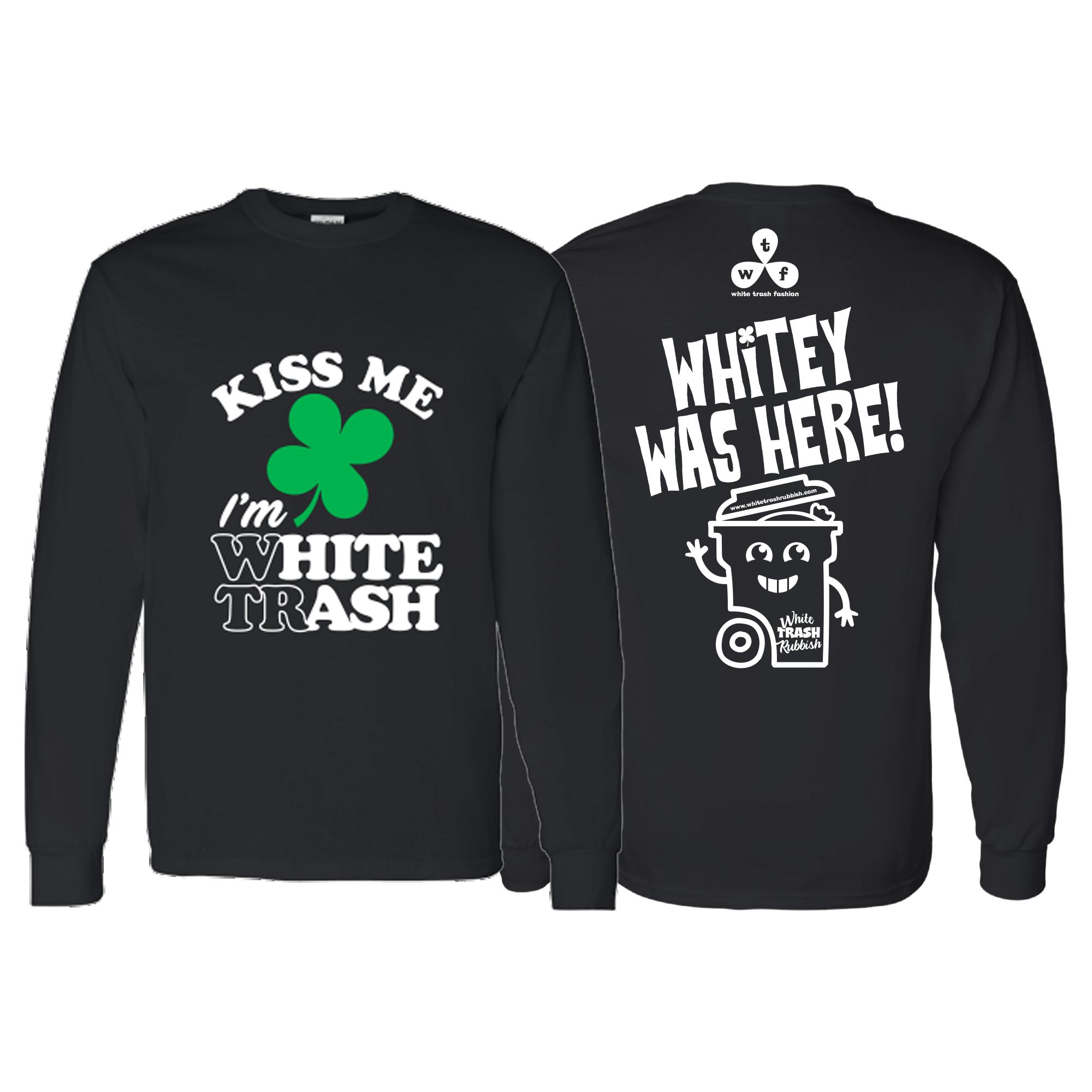 WTF Kiss Me Long Sleeve T-Shirt