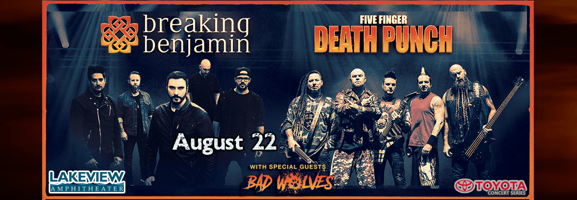 2018 Breaking Benjamin & Five Finger Death Punch Concert