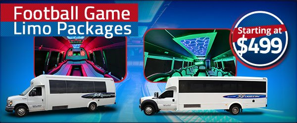 Buffalo Bills Game Packages with Transportation