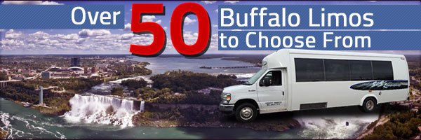 Over 50 Limos to Choose to rent from in Bufallo NY