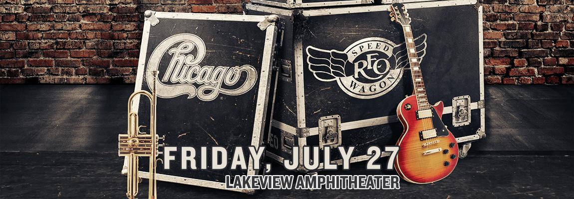 2018 Chicago & REO Speedwagon Concert
