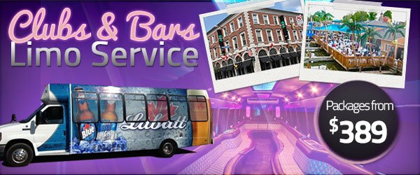 Clubs & Bar Limo Service