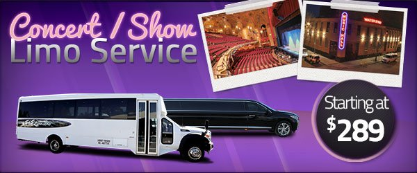 Concert Limo Transportation Packages