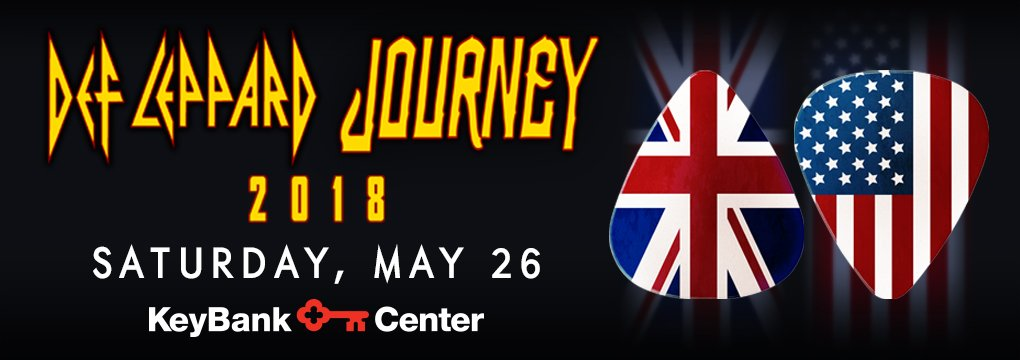 2018 Def Leppard and Journey Concert