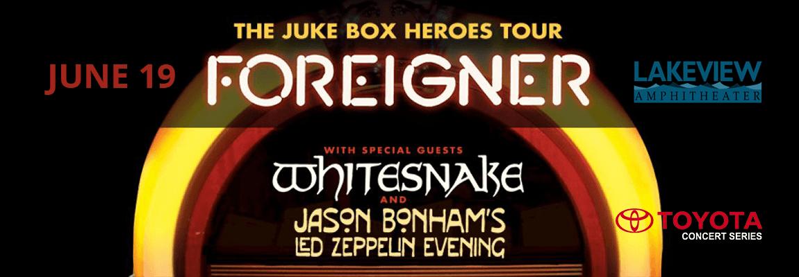 2018 Foreigner & Juke Box Heroes Concert