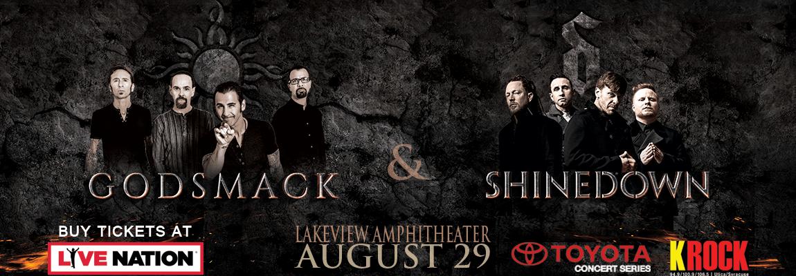 2018 Godsmack & ShineDown Concert