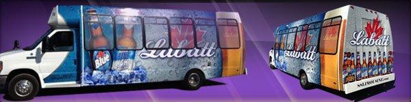 Labatt Blue Bus