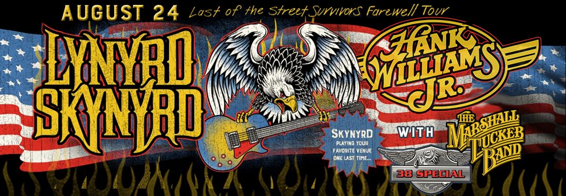 2018 Lynyrd Skynyrd, Hank Williams Jr & The Marshall Tucker Band Concert