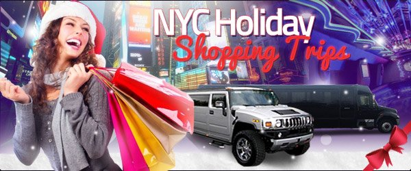 Take a Limo or Bus Shopping through NYC This Holiday Season