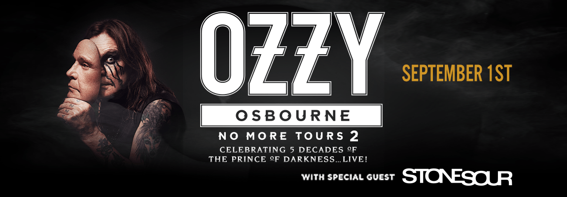 2018 Ozzy Osbourne, with StoneSour Concert
