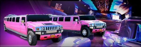 Pink H2 Hummer Limousine