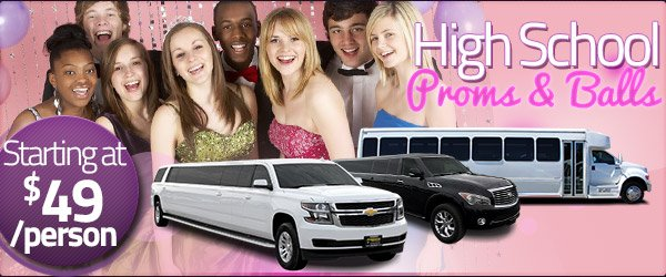 High School Proms & Senior Ball Limo Packages