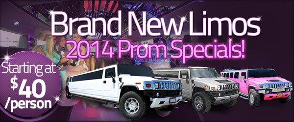 2014 Prom Limo Specials