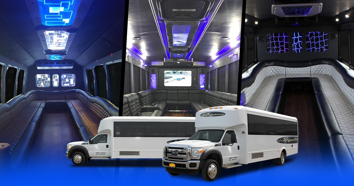 Level 3 Passenger Limo Bus Rochester, Syracuse & Buffalo NY