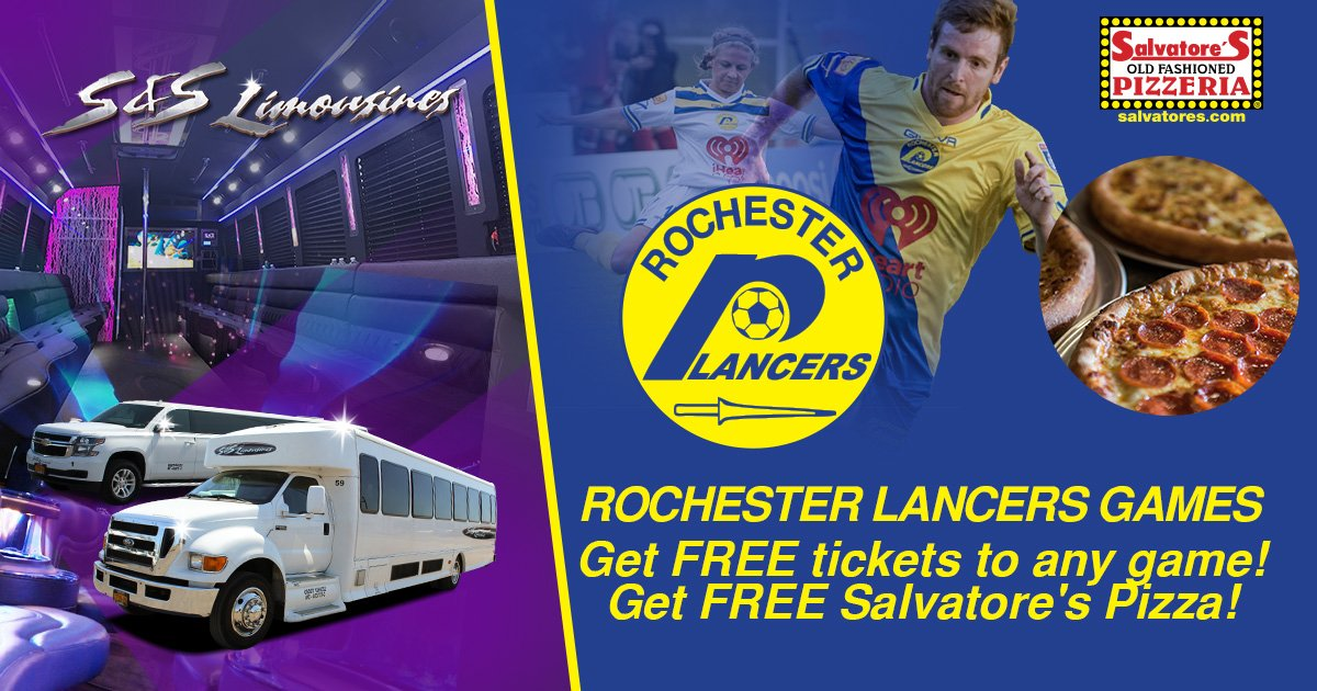 Limo Service to Rochester Lancers Soccer Games