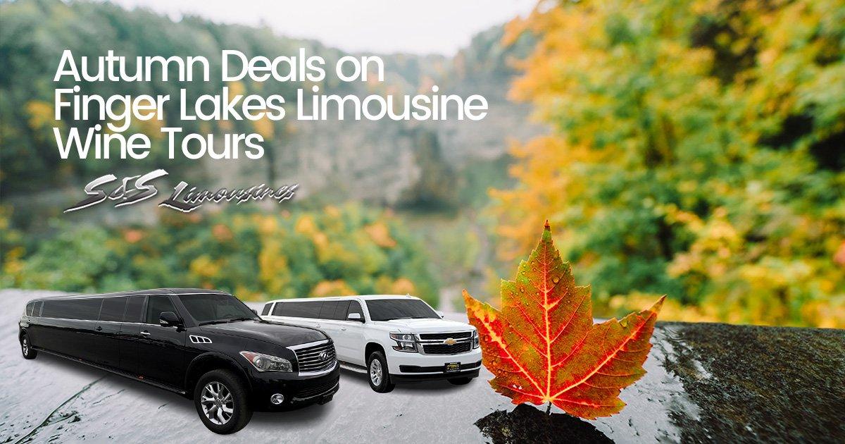 Autumn Deals on Finger Lakes Limousine Wine Tours