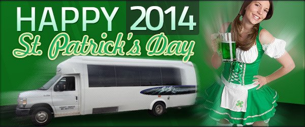 2014 St. Patrick's Day Limo Packages