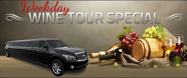 Weekday Wine Tour Specials