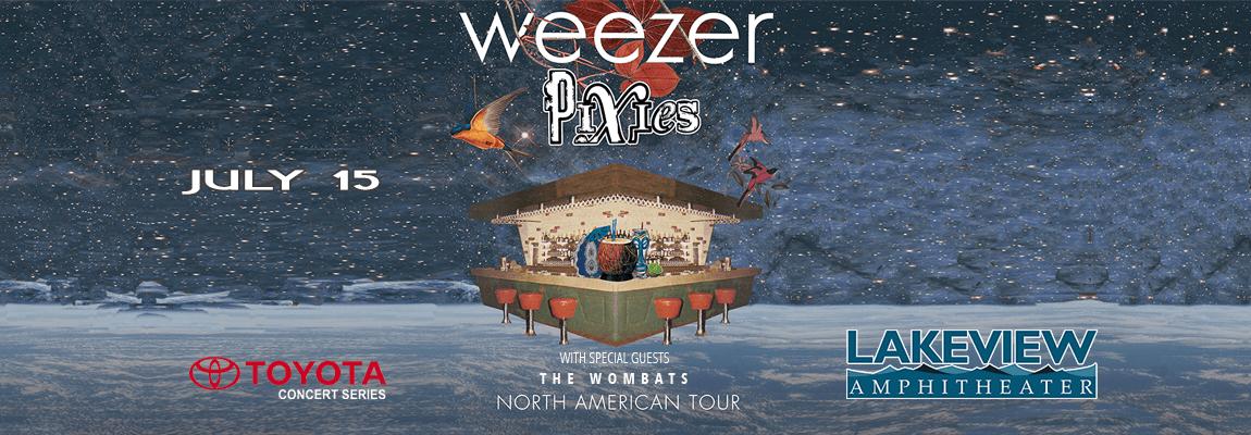 2018 Weezer & Pixies Concert