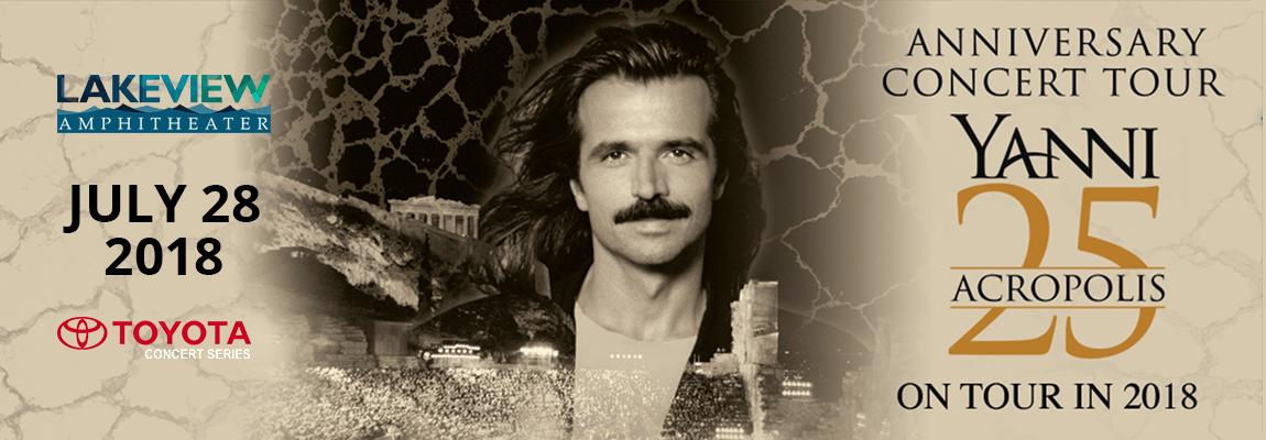 2018 Yanni Concert