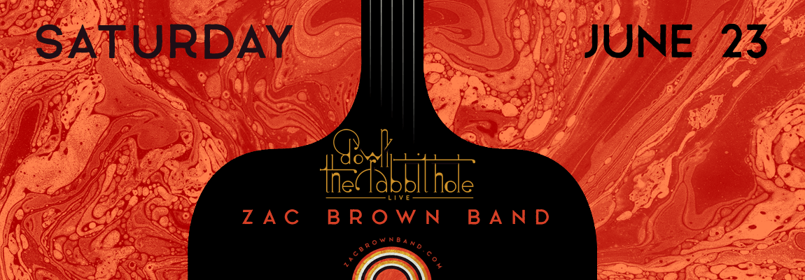 2018 Zac Brown Band, Down the Rabbit Hole Concert