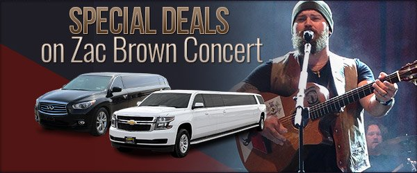 Zac Brown Concert Limo