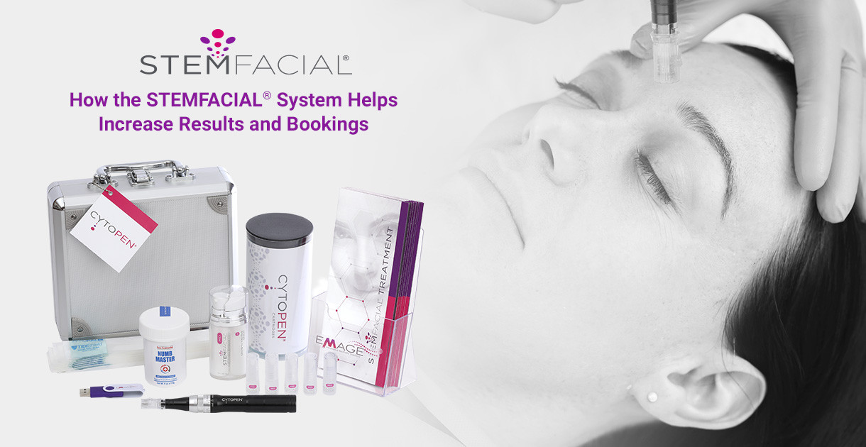 How the STEMFACIAL® System Helps Increase Results and Bookings