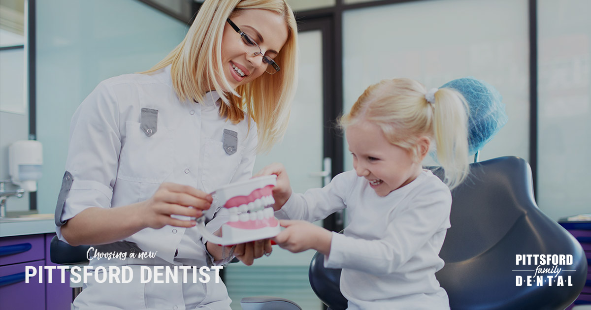 Choosing the Right Family Dentist in Pittsford NY